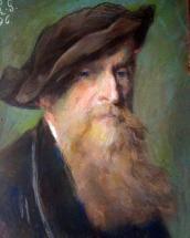 Gratia charles louis autoportrait 1896