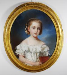 Gratia charles louis fillette au livre 1855