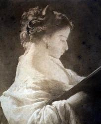 Gratia charles louis la liseuse 1864