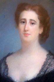 Gratia charles louis portrait baronne salomon de rothschild 1868