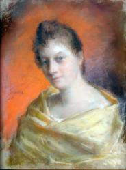 Gratia charles louis portrait de femme 1893