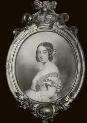Gratia charles louis portrait de la reine victoria